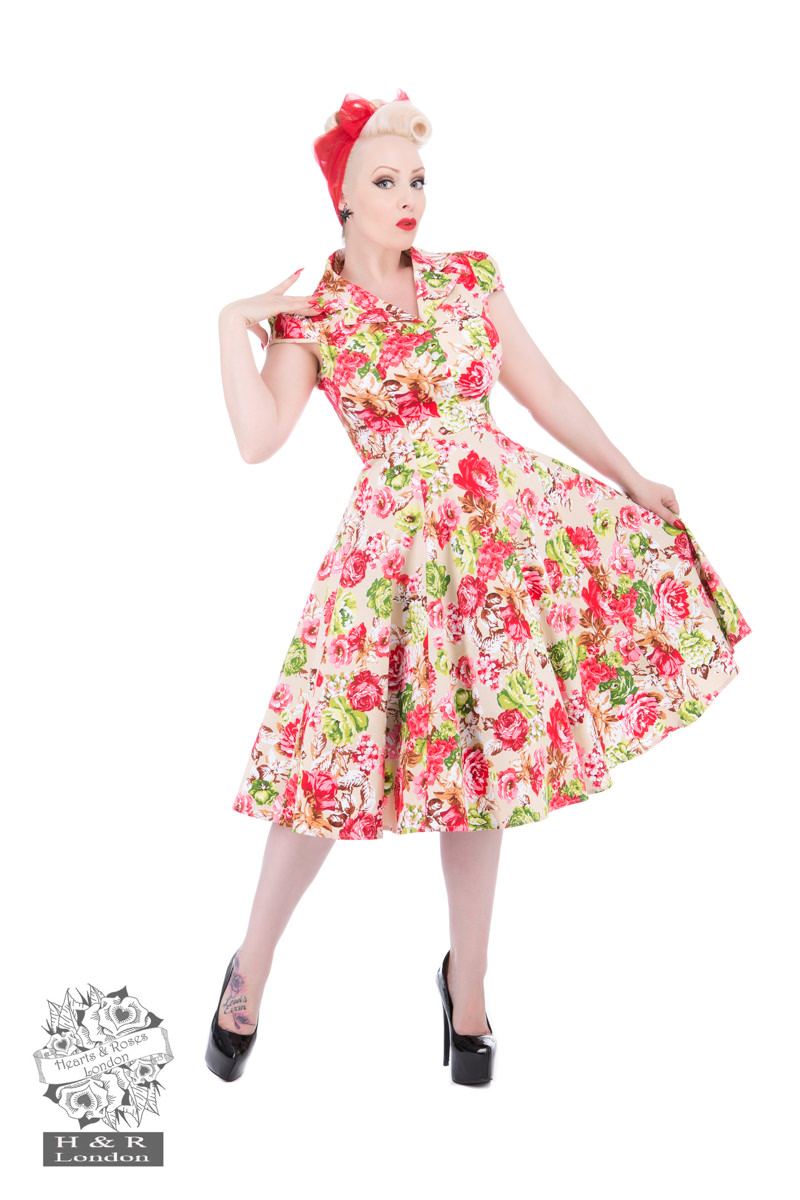 Zennor Floral Tea Dress